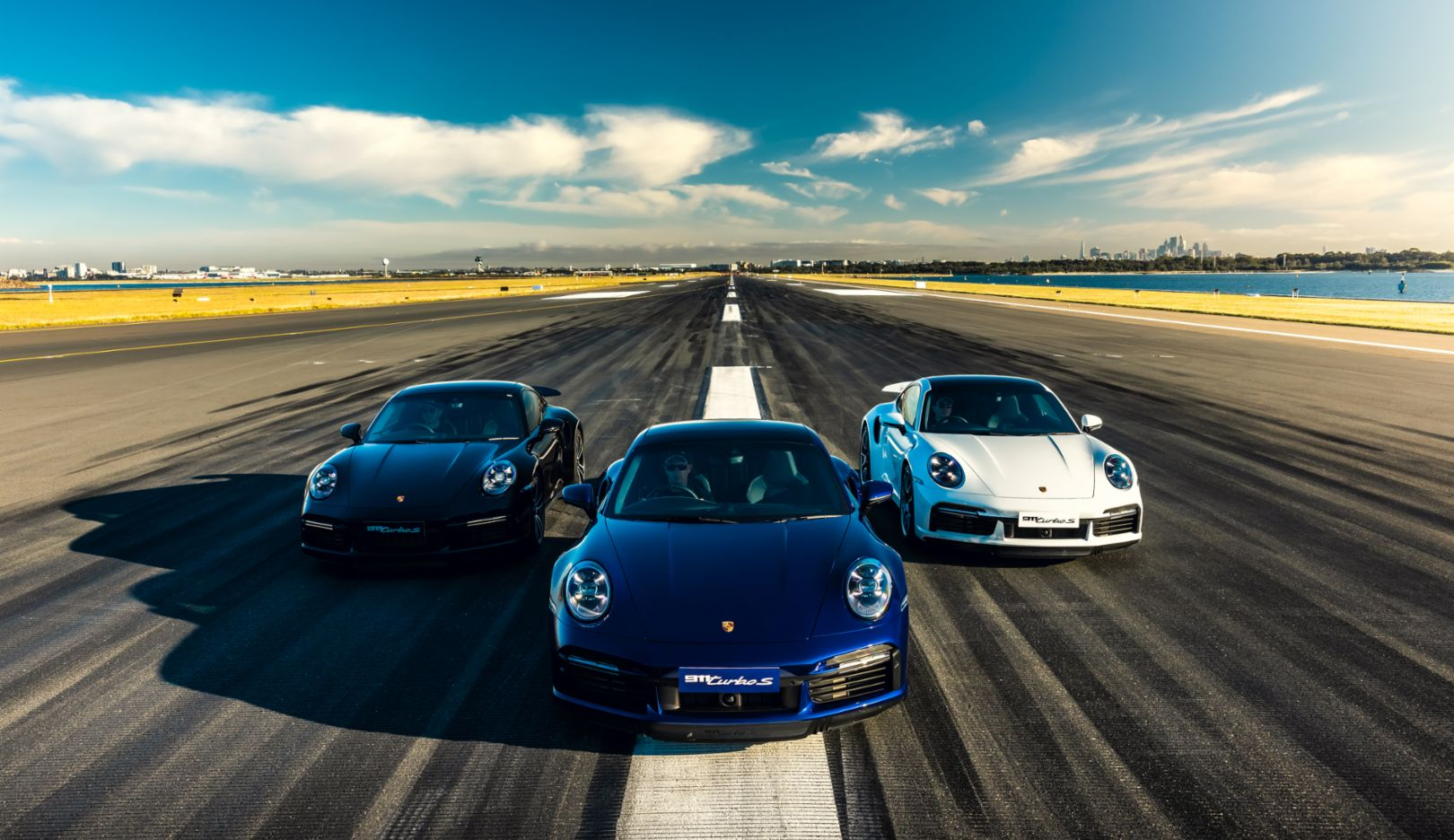 Porsche 911 Turbo S, Launch Control event, Sydney Airport, 2020, Porsche Cars Australia