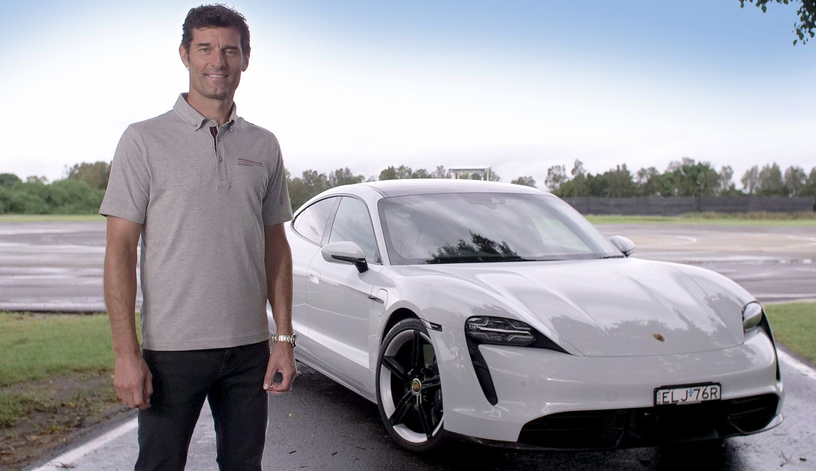 Special delivery: Taycan taxi with Mark Webber - Image 4