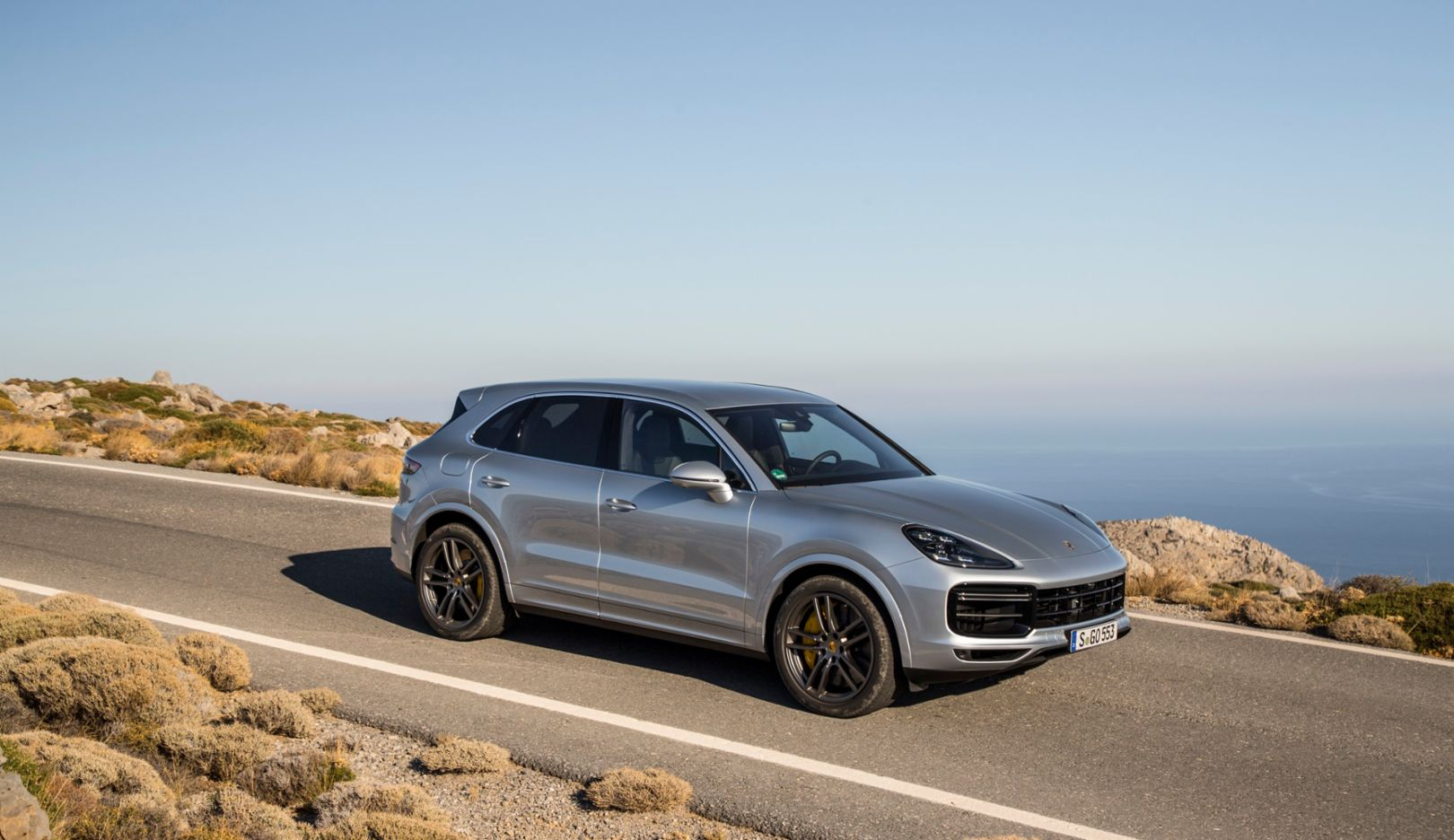 Sales of the redesigned Cayenne were nine times higher in August compared to a year earlier, 2019, PCNA