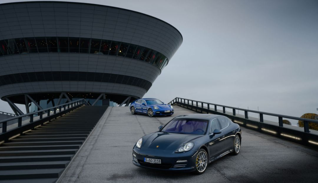 10 years of the Porsche Panamera: sports car, luxury saloon, hybrid pioneer