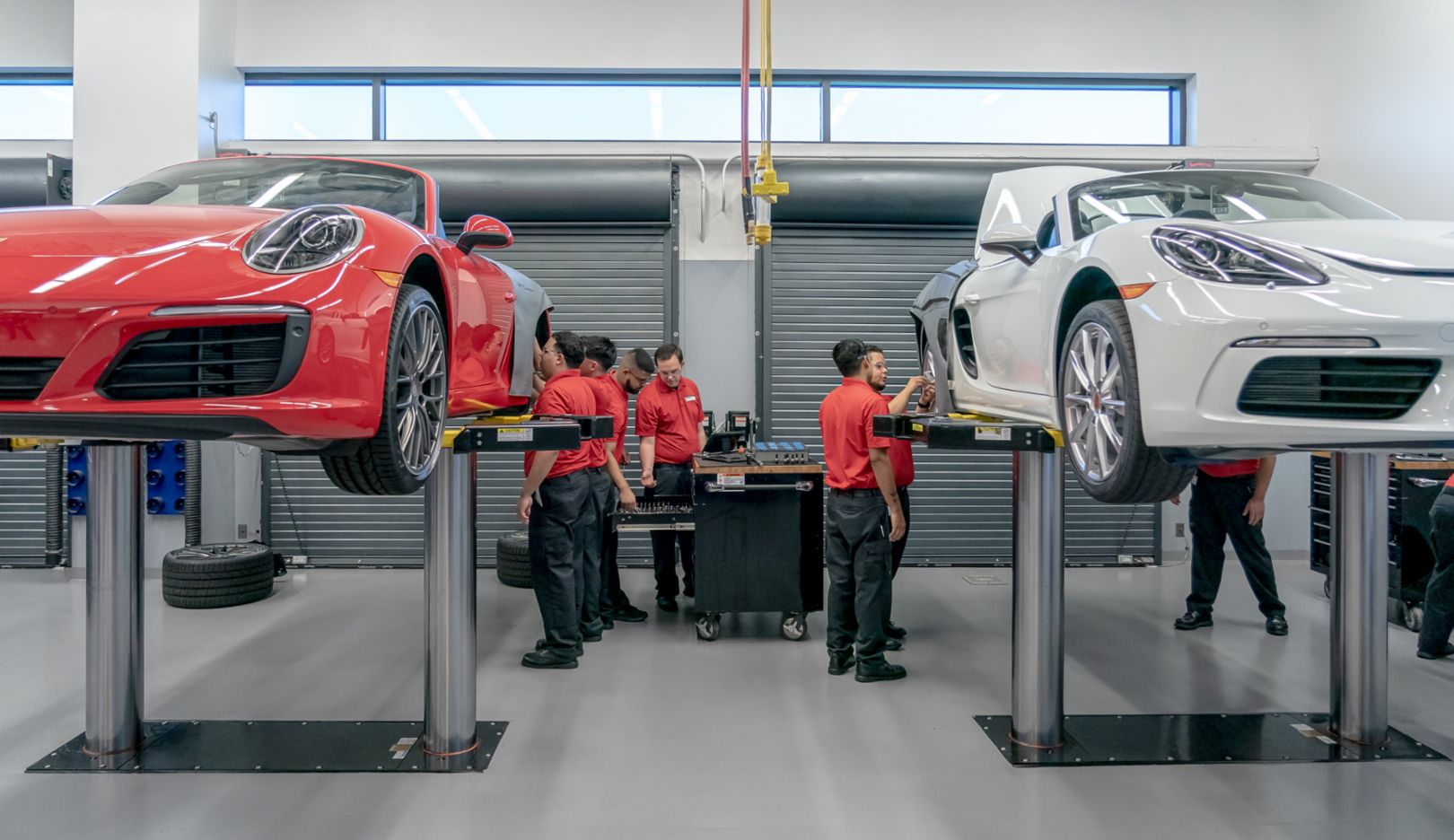 Porsche Technician Apprenticeship Program, Atlanta, 2019, PCNA