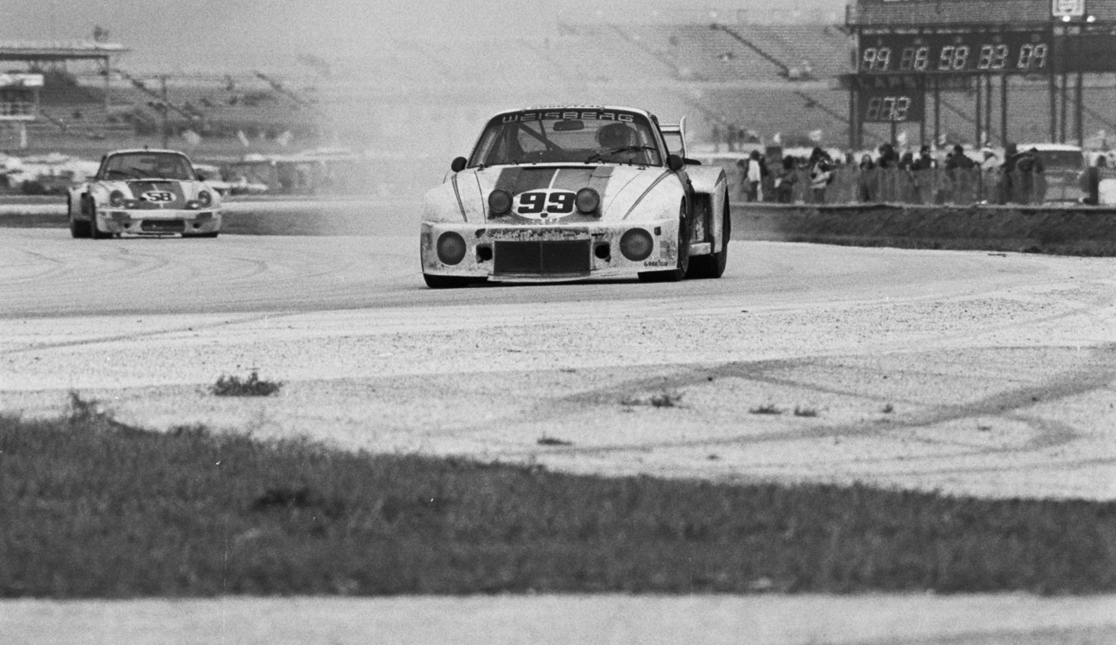935,  No. 99, drivers: Rolf Stommelen, Toine Hezemans and Peter Gregg, 24 Hours at Daytona, 1978, Porsche AG