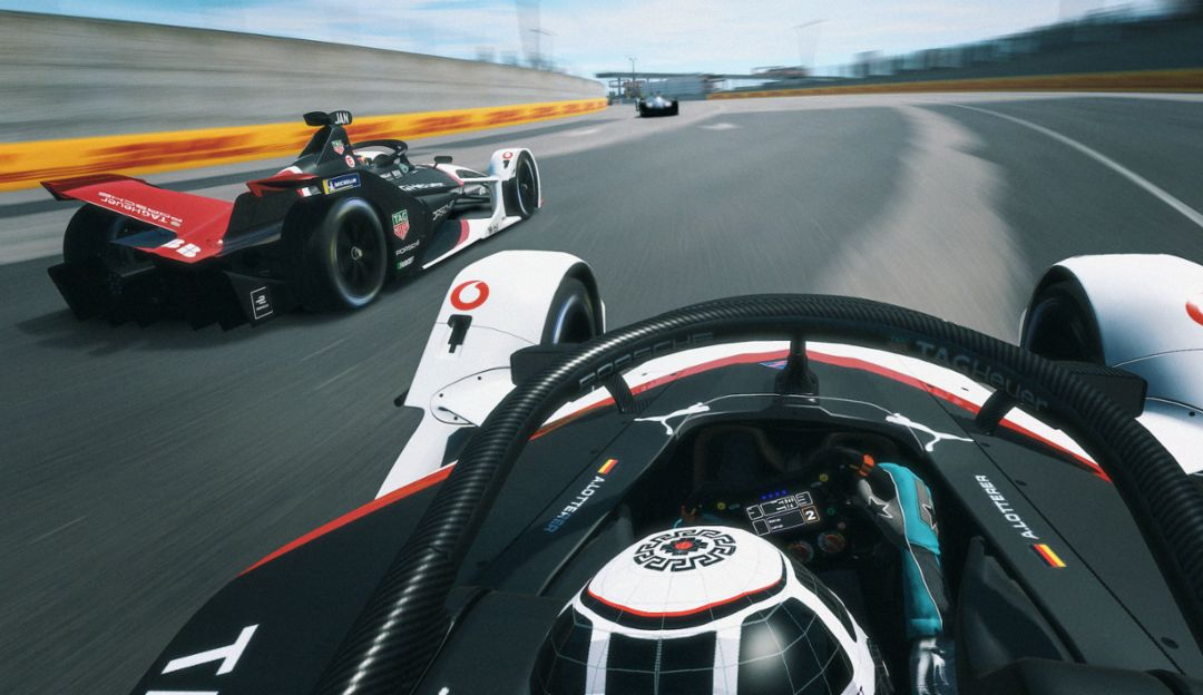 99X Electric, ABB FIA Formula E Championship, Race at Home Challenge, race 2,