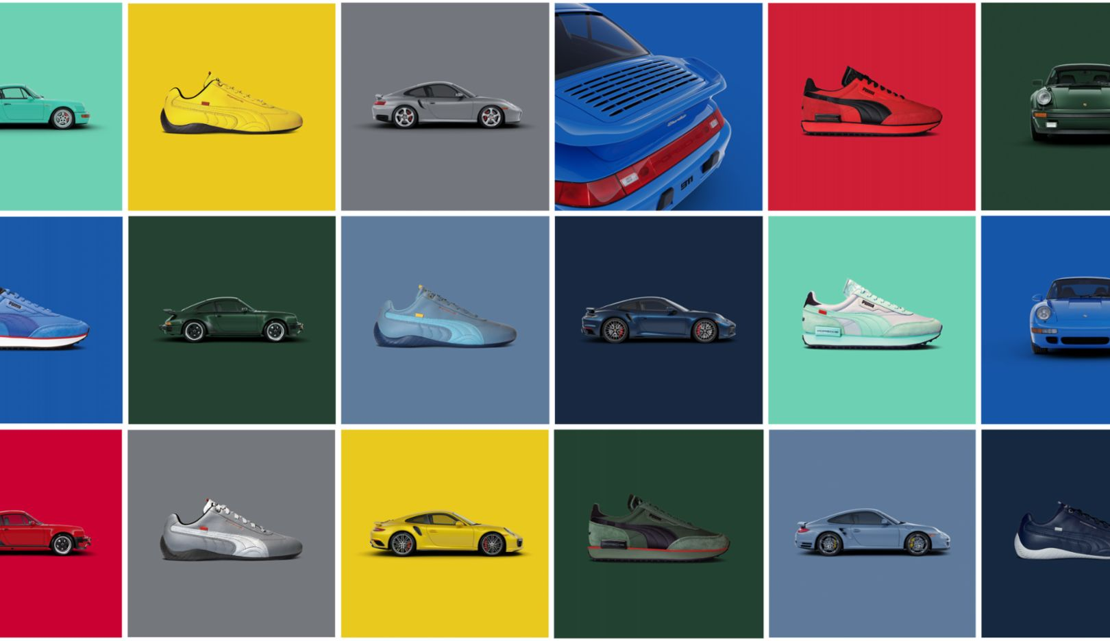 Icons of fast: Porsche and PUMA unveil limited shoe series inspired by the 911 Turbo - Image 4
