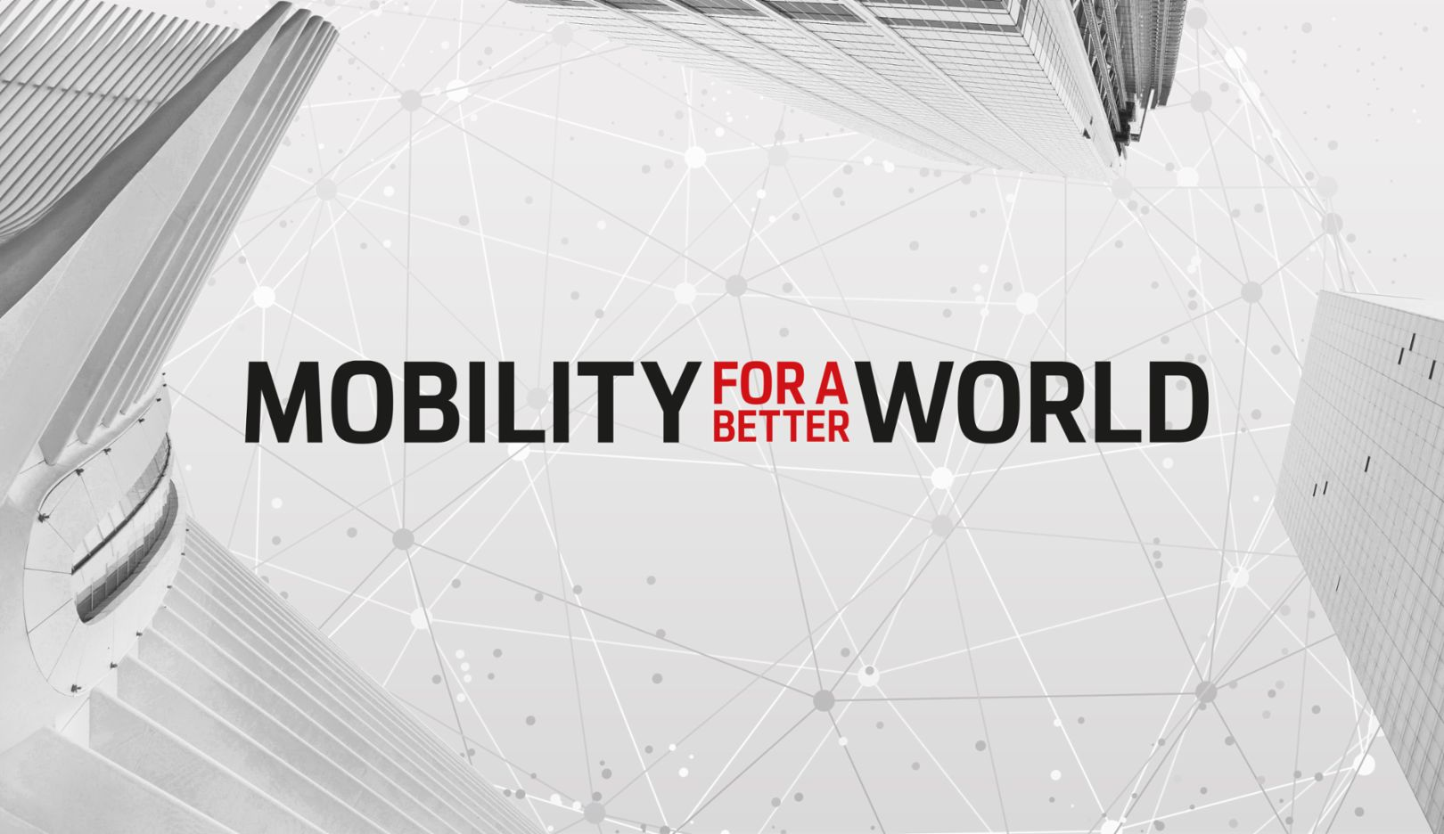 Mobility for a better world - apply now!