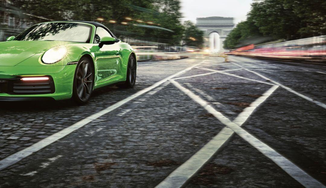 Neel Jani in the New Porsche 911 Carrera S Cabriolet