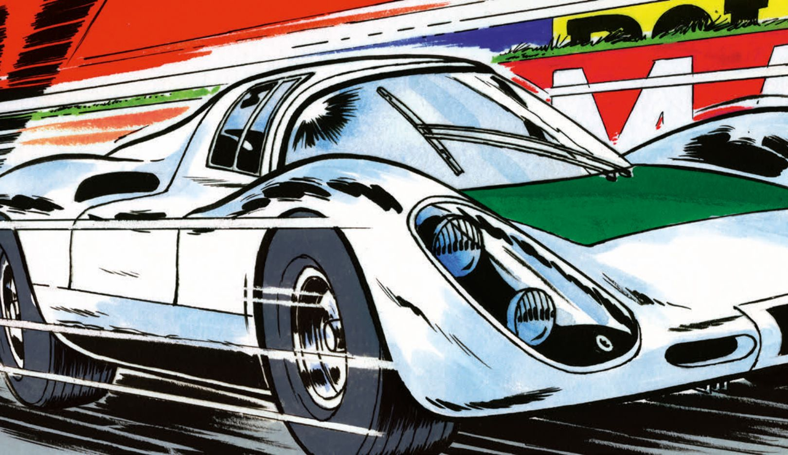 Michel Vaillant comic, 2020, Porsche AG