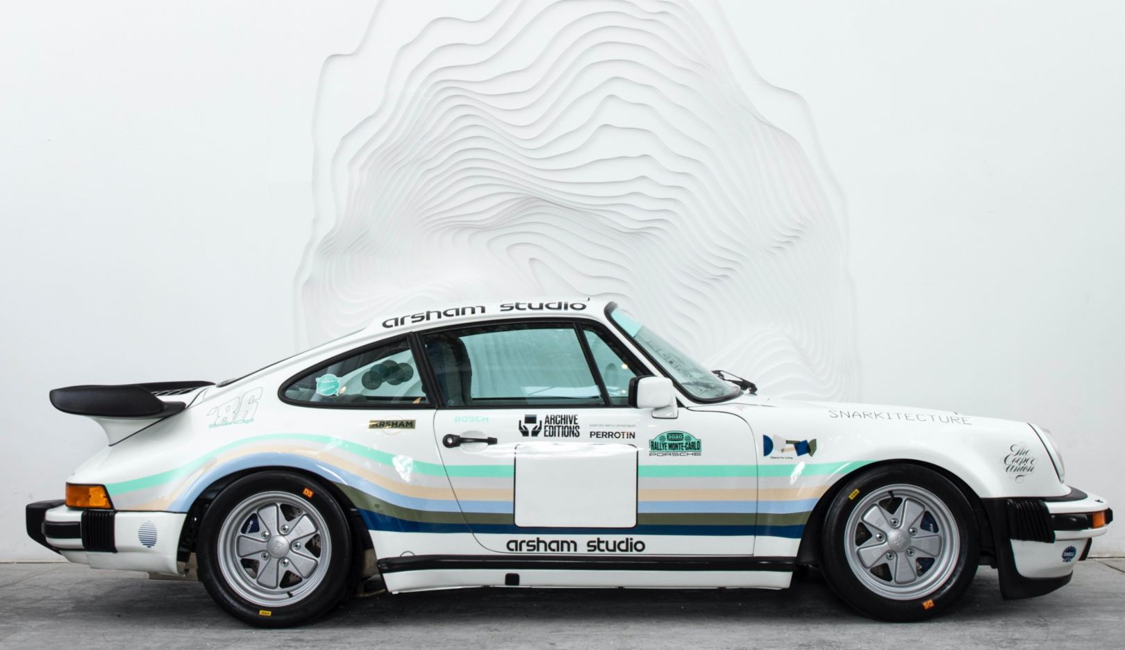 911 Turbo (930) by Daniel Arsham, 2020, Porsche AG