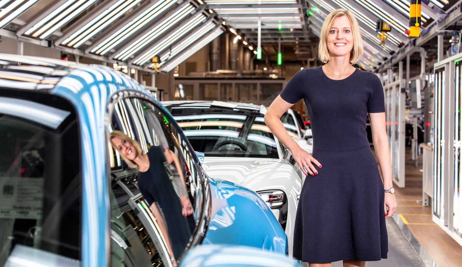 Kerstin Hess, director of the department for financial strategy and organization, 2020, Porsche AG