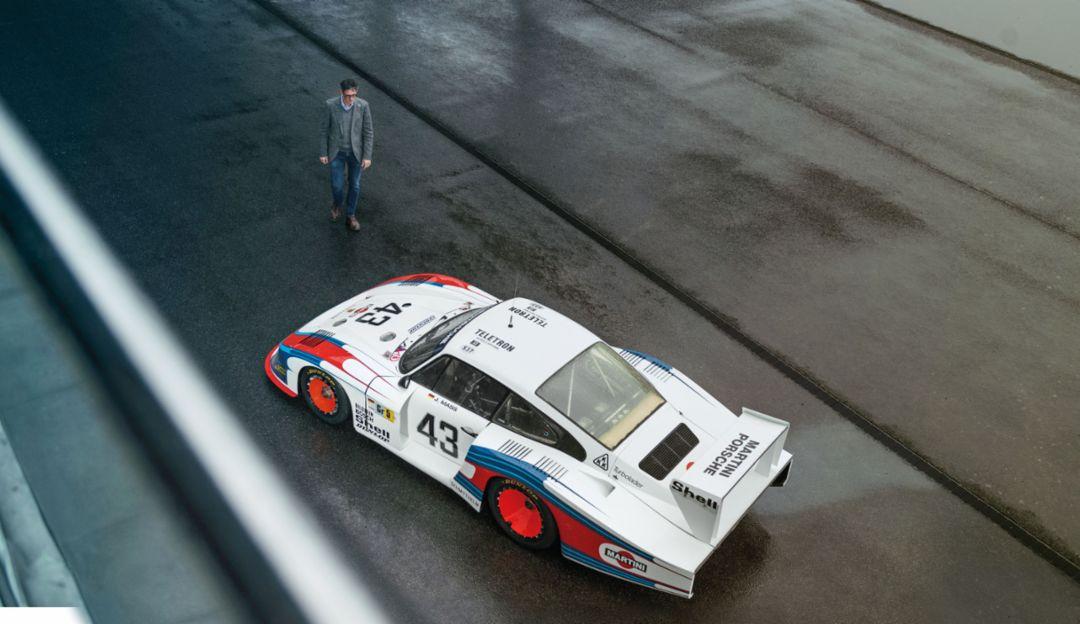 Frank-Steffen Walliser, Vice President Model Line 911/718, Porsche 935/78 Moby Dick, Porsche Experience Center, Hockenheim, 2020, Porsche AG