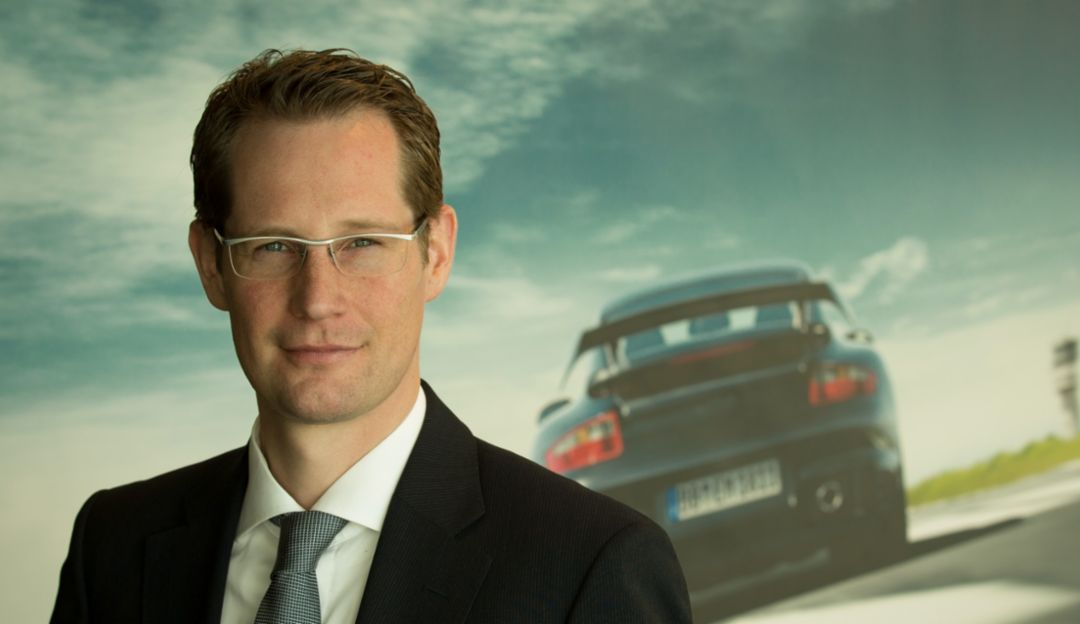 Marc Rieß, COO Porsche Financial Services, 2019, Porsche AG