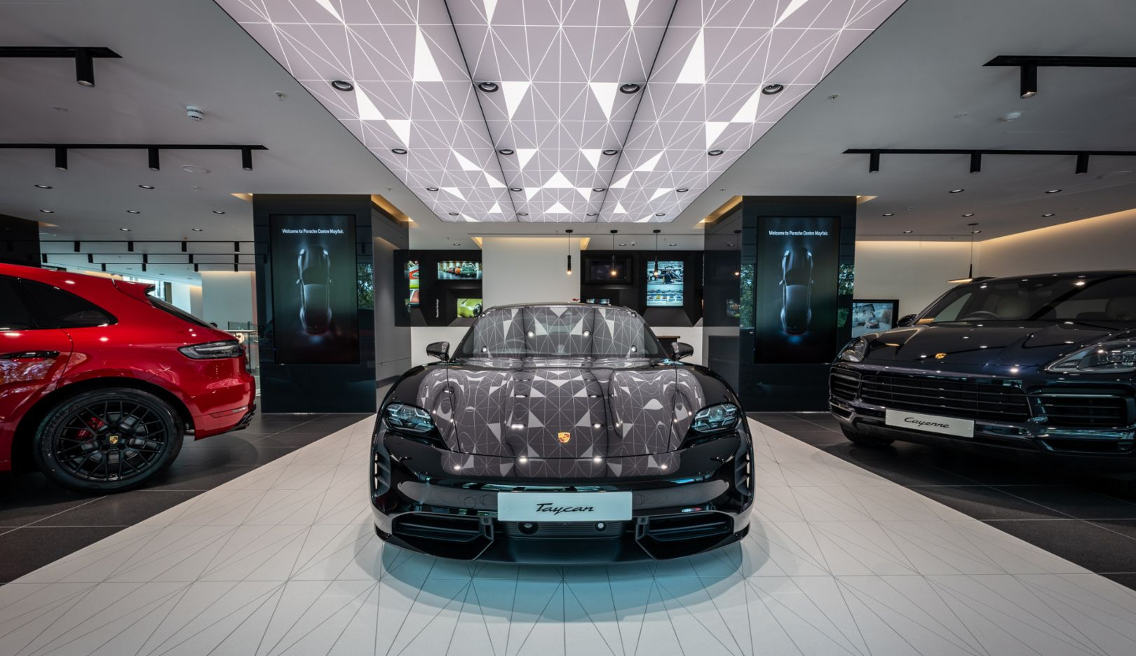 Welcome to the new Porsche Centre Mayfair. Porsche DNA in every detail. Now open on Clarges Street.