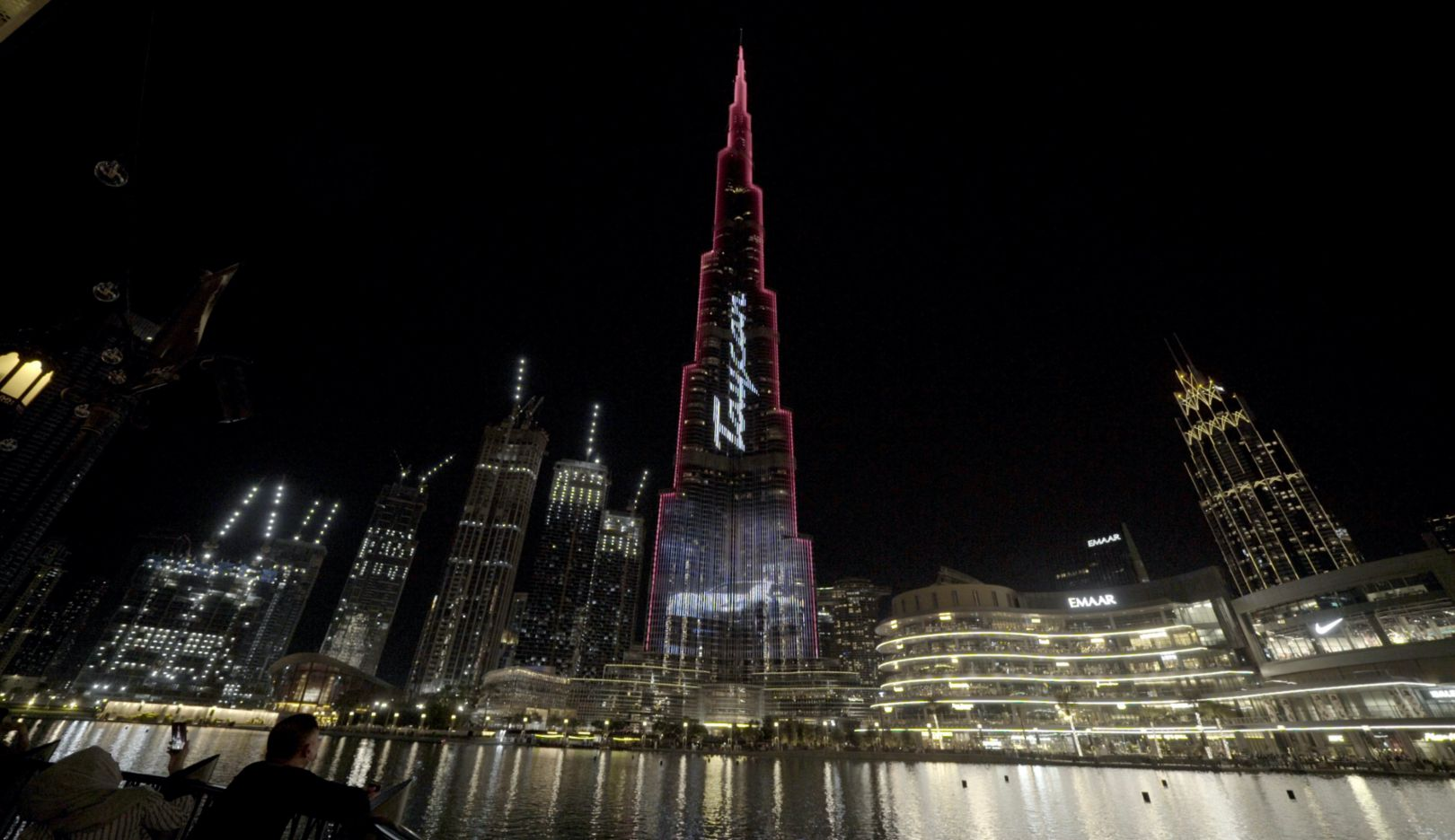 Porsche Taycan electrifies the world's tallest building: Dubai's Burj Khalifa - Image 3