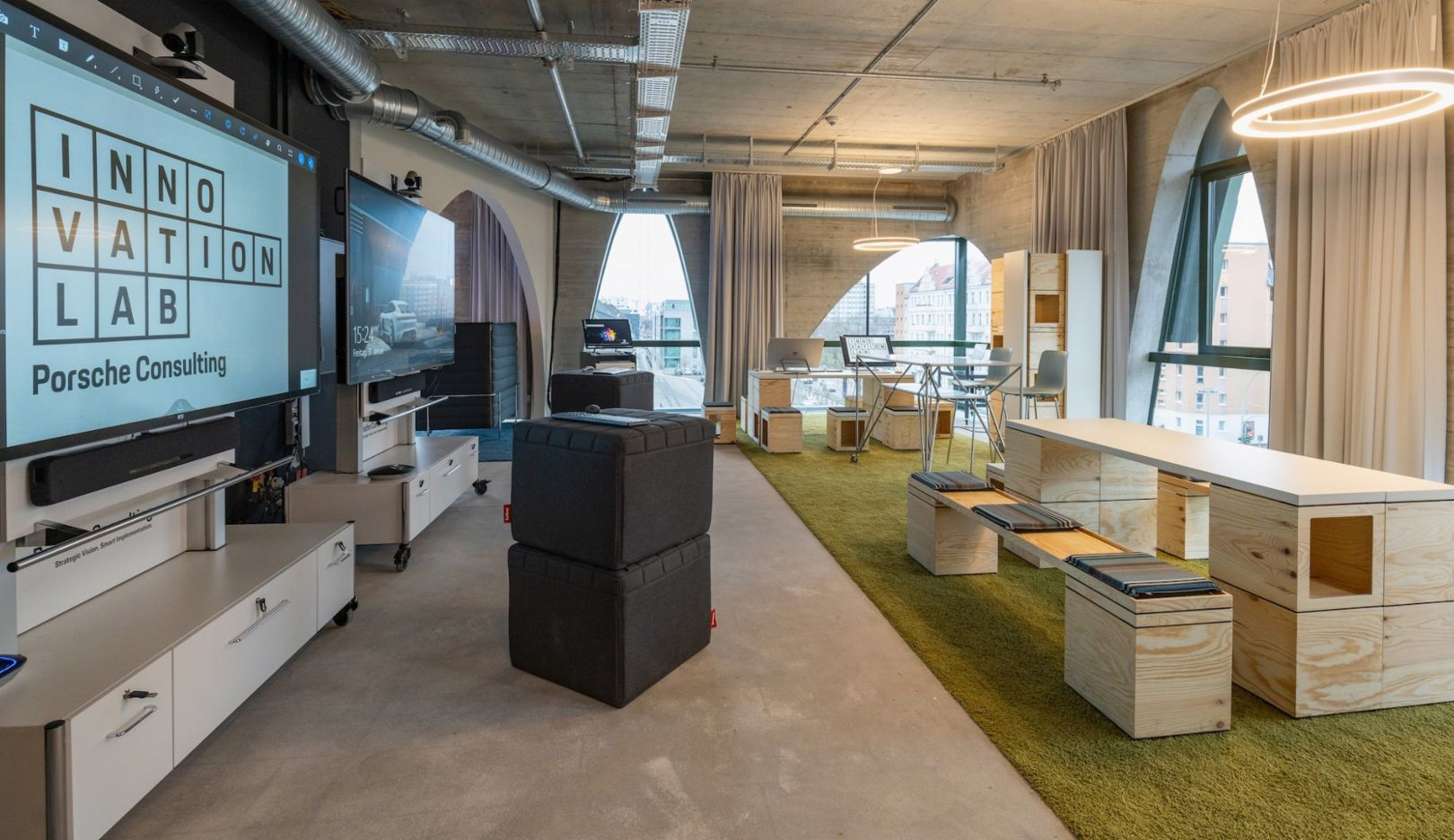 Porsche Consulting Innovation Lab, Berlin, 2020, Porsche Consulting GmbH