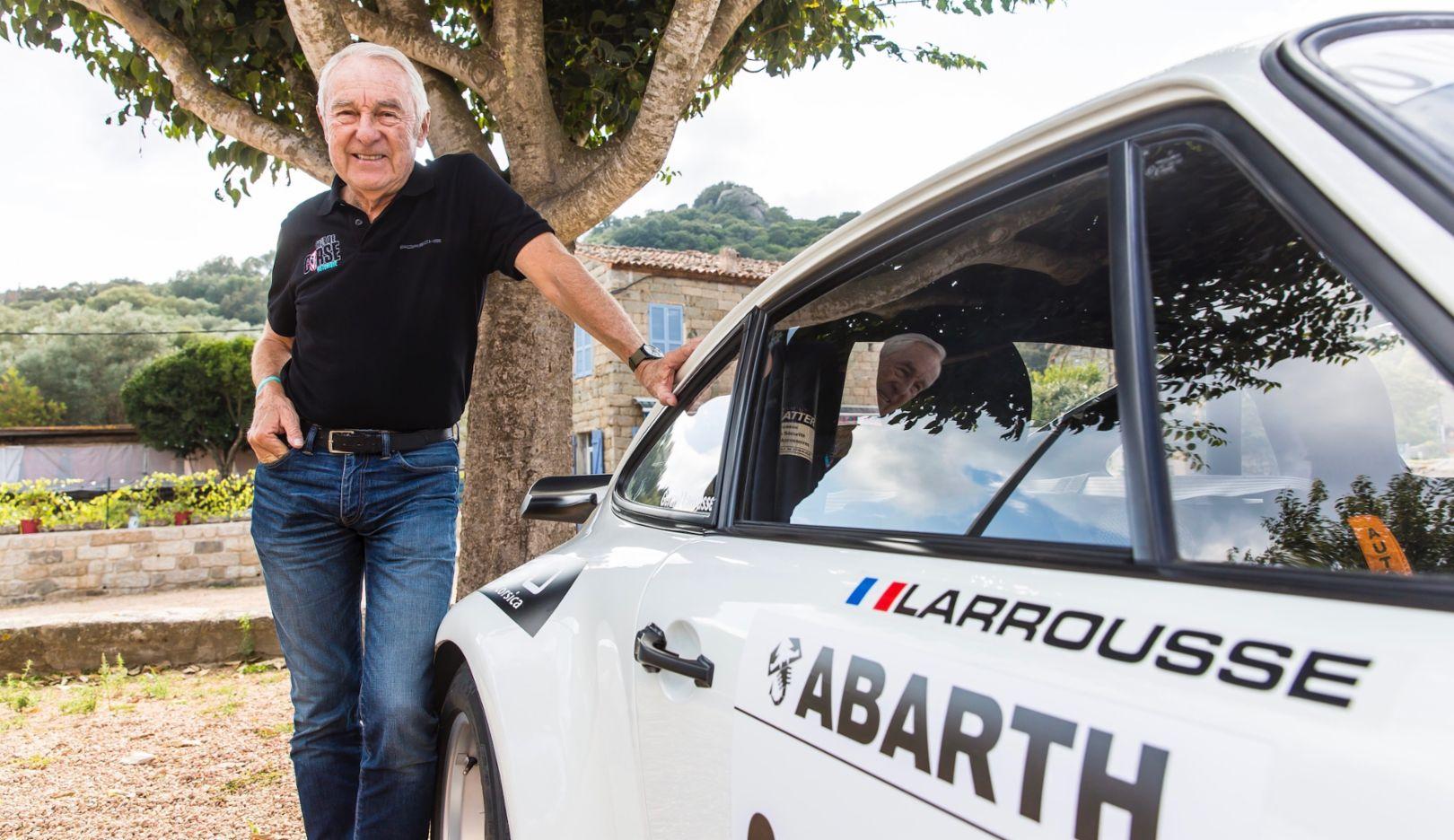 Porsche congratulates Gérard Larrousse on his 80th birthday - Image 1