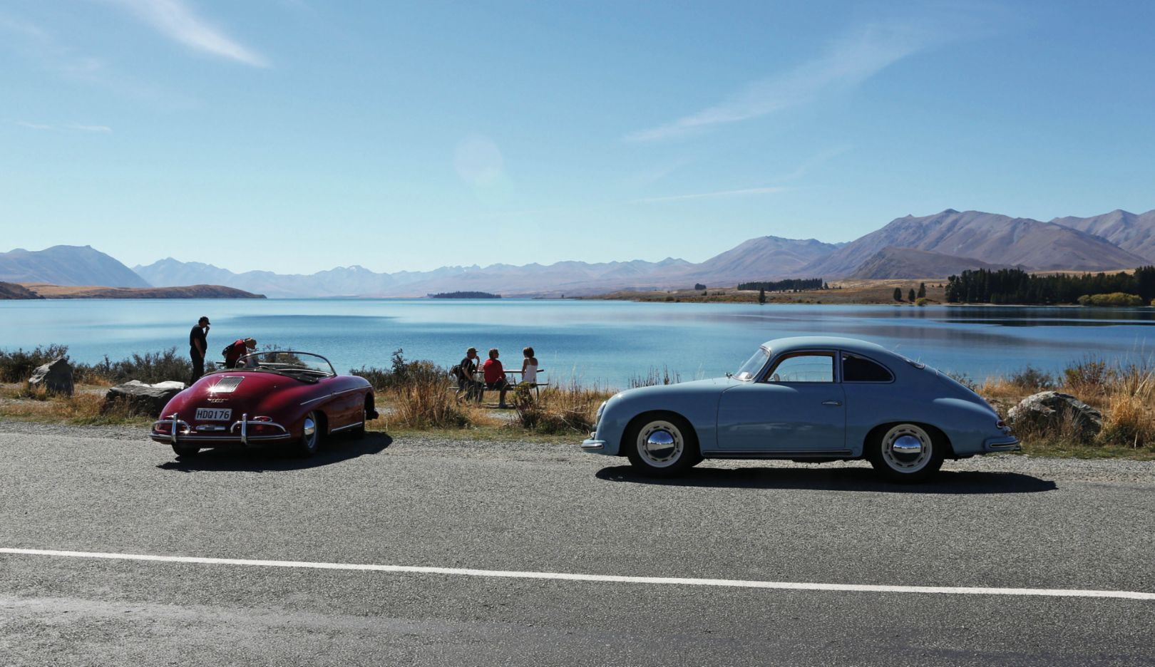 356 B Roadster, 356 A Super Coupé, 2020, Porsche AG