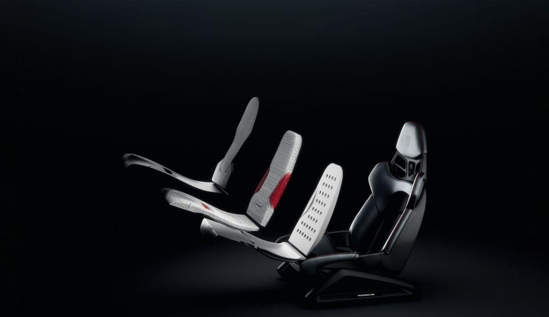 Porsche presents innovative 3D-printing technology for bucket seats - Image 4