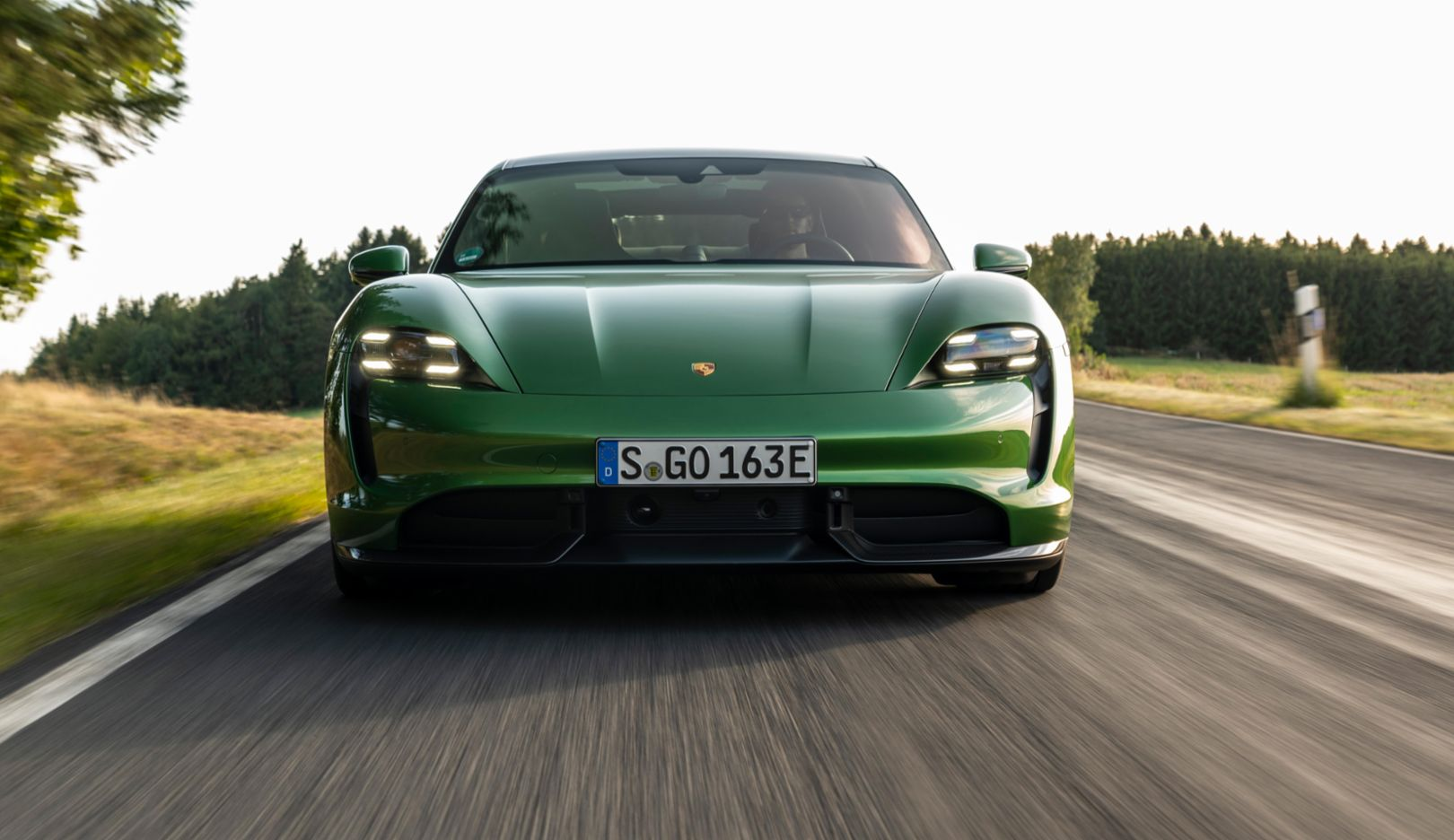World Car Of The Year Porsche Taycan Drives Home A Double Victory