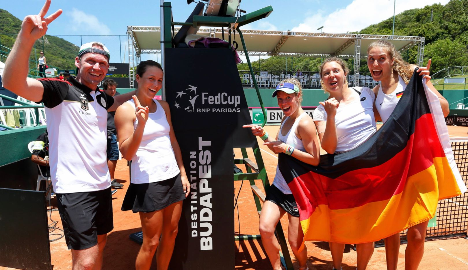 Porsche Team Germany qualifies for Fed Cup finals - Image 1