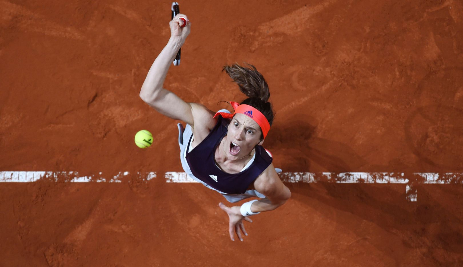 "Andrea Petkovic, ""Sports Photo of the Year"" by dpa photographer Marijan Murat, 2020, Porsche AG"