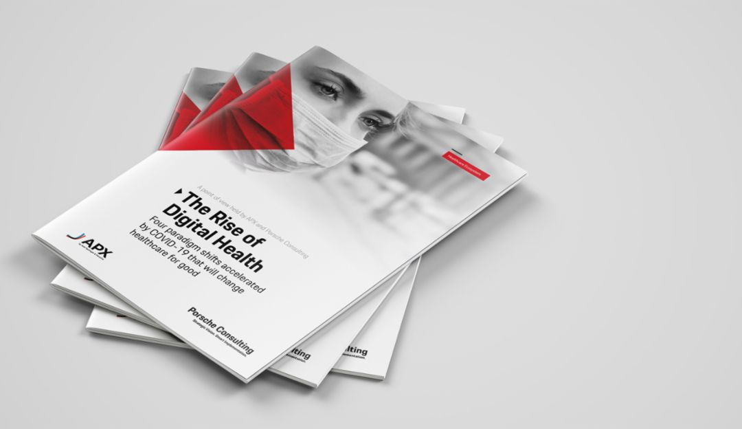 The Rise of Digital Health, white paper, 2020, Porsche Consulting GmbH