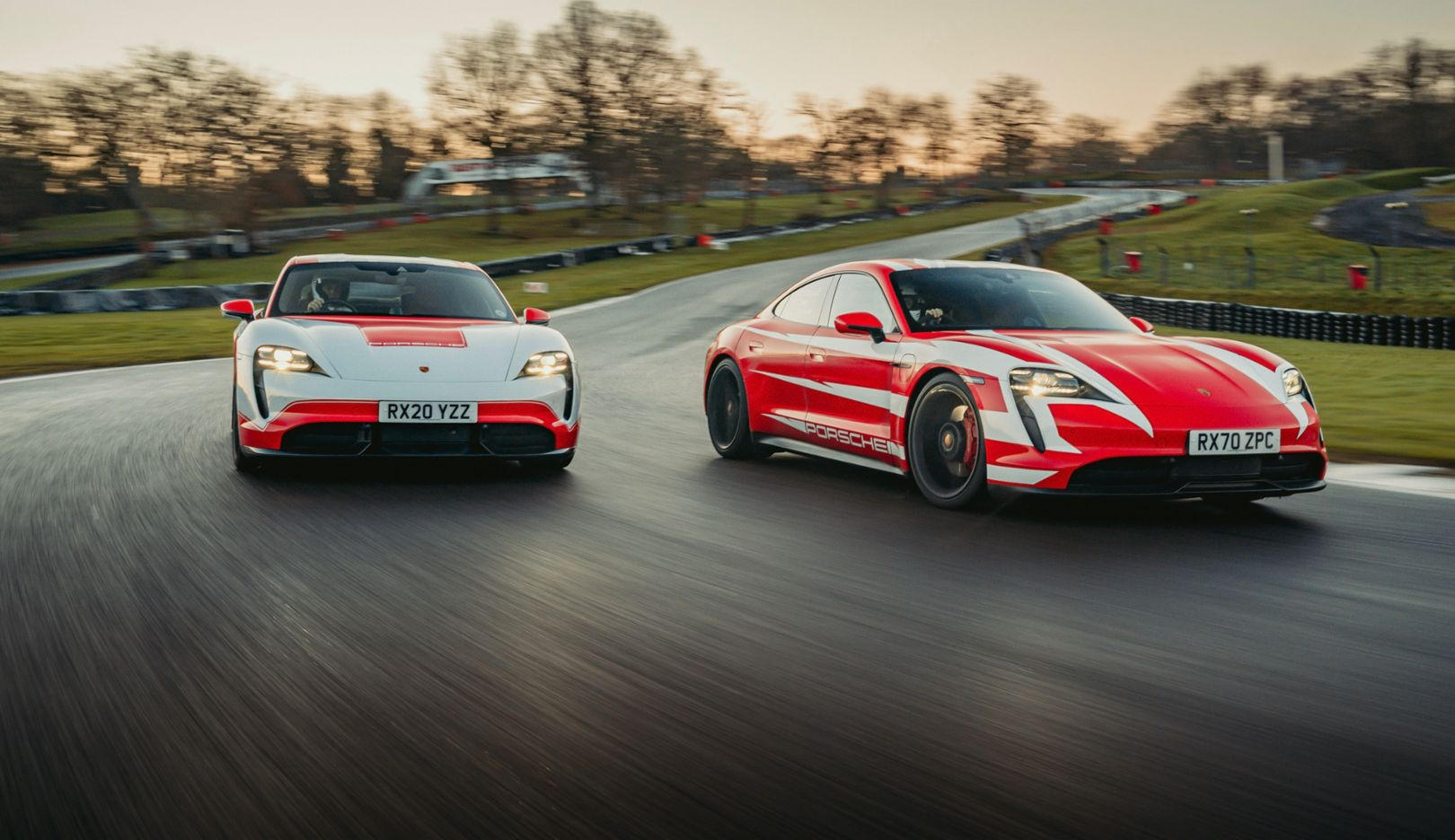Porsche Taycan races into the record books