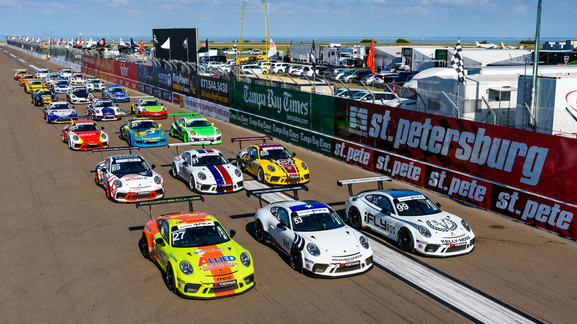 2020 IMSA Porsche GT3 Cup Challenge USA by Yokohama Full Field Photo, PCNA