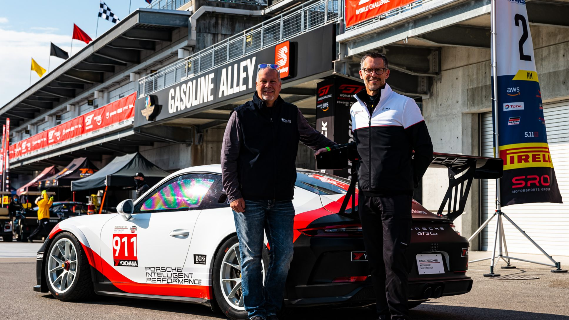 Porsche Sprint Challenge North America by Yokohama Unveil - Kevin Miller (USAC) and Erik Skirmants (PMNA), 2020, PCNA