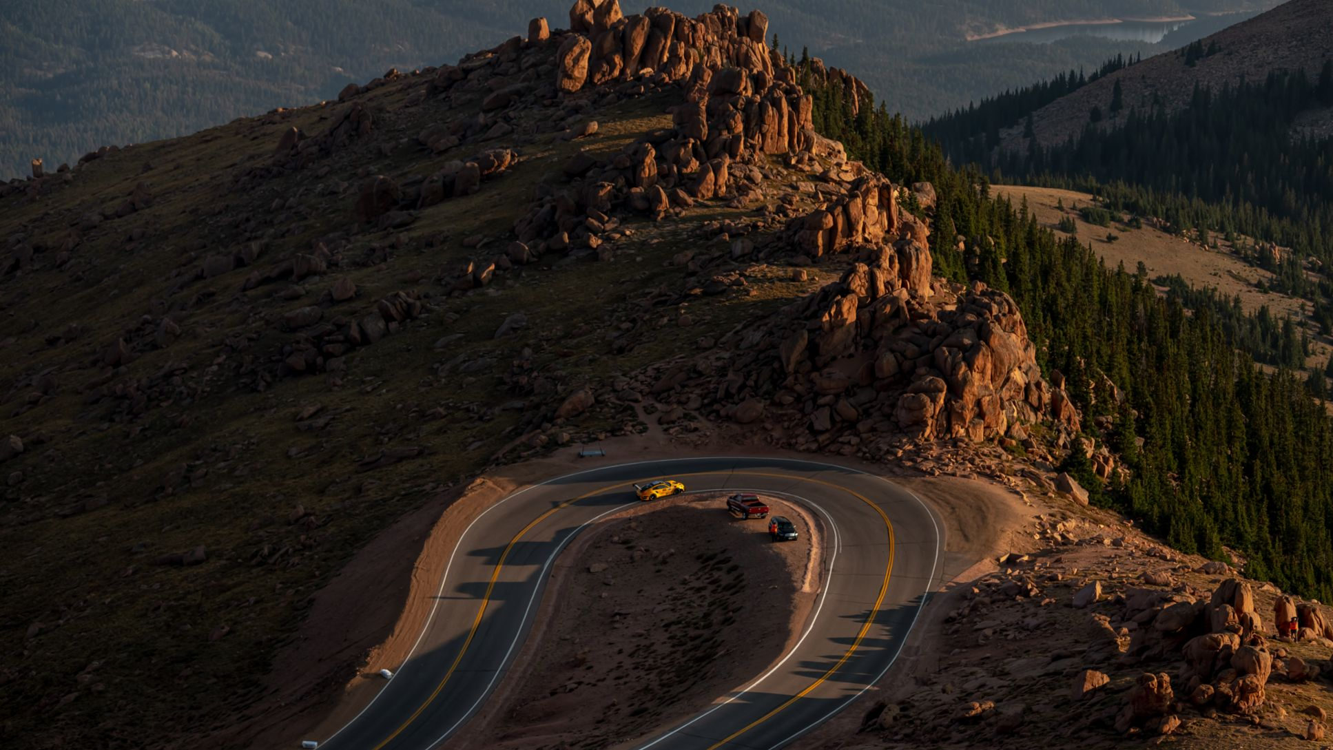 No. 911 Porsche 911 GT2 RS Clubsport, David Donohue, Pikes Peak, Wednesday Aug 26 2020, Photo by Marc Urbano