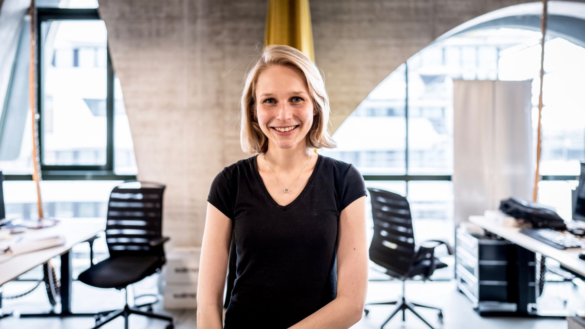 Sophie Schwandt, Data Scientist at Porsche Digital Lab, 2019, Porsche AG
