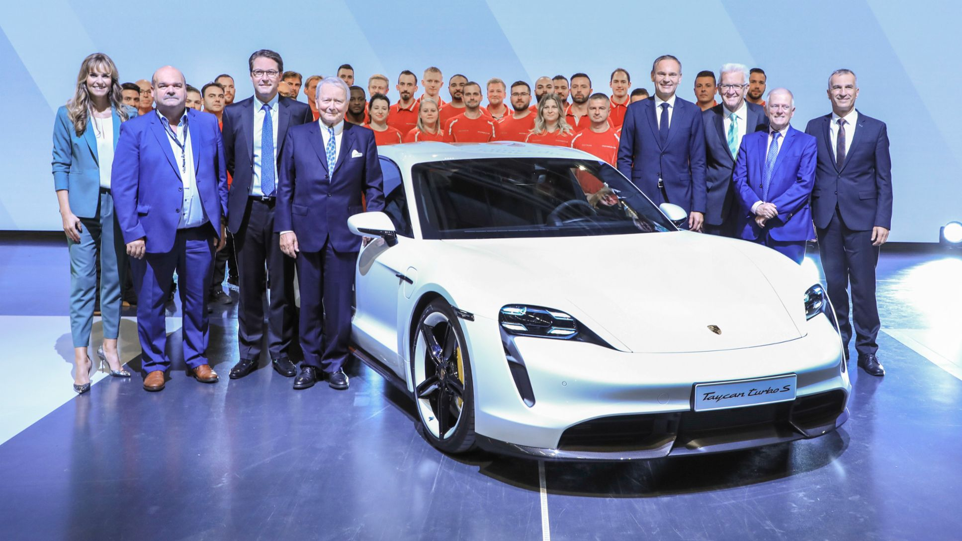 Factory opening for the Taycan in Stuttgart-Zuffenhausen, 2019, Porsche AG