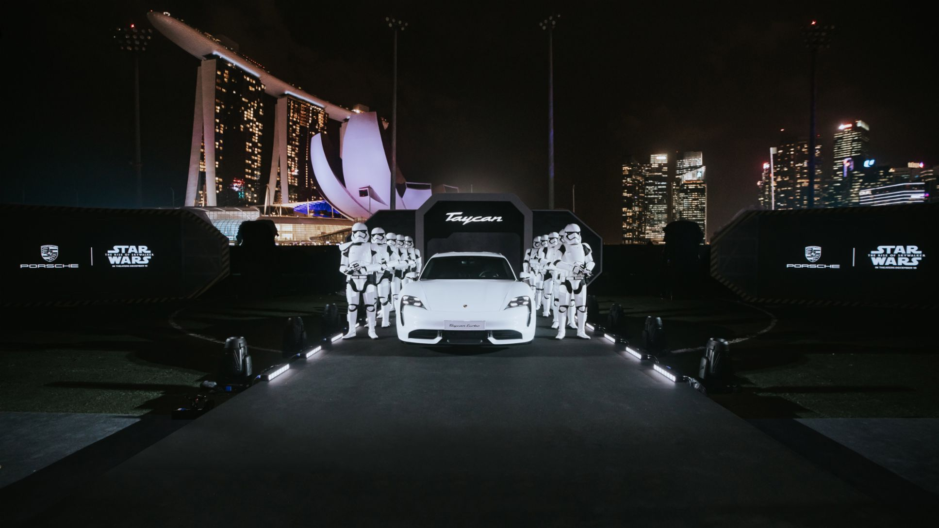 Asia Pacific premiere of the Taycan, Singapore, 2019, Porsche AG