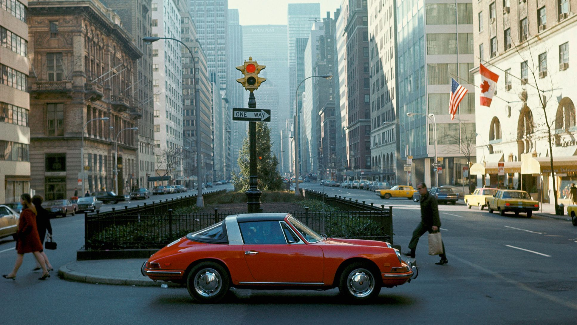 Porsche 912 Targa, New York City, Park Avenue, Porsche AG