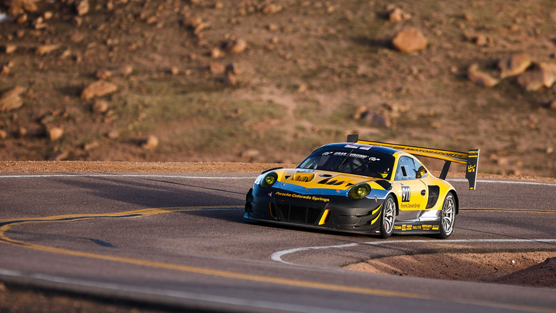 GT3 R, Pikes Peak International Hill Climb, Colorado, 2019, Porsche AG