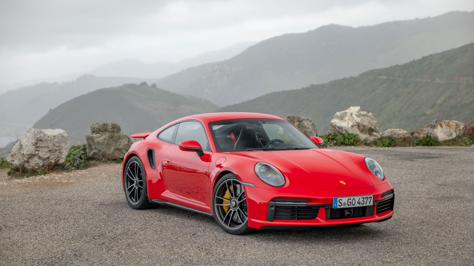 911 Turbo S (Guards Red), 2020, Porsche AG