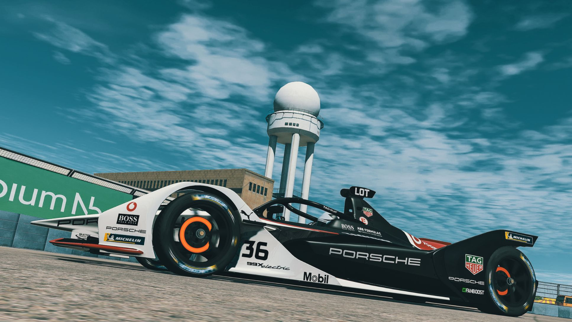99X Electric, ABB FIA Formula E Championship, Race at Home Challenge, race 5, Berlin, 2020, Porsche AG