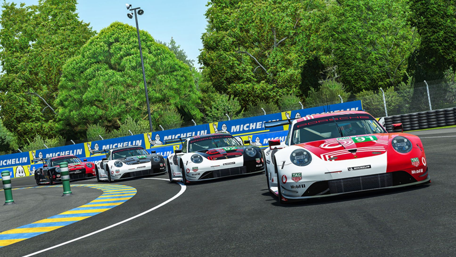 911 RSR, virtual 24 Hours of Le Mans, 2020, Porsche AG