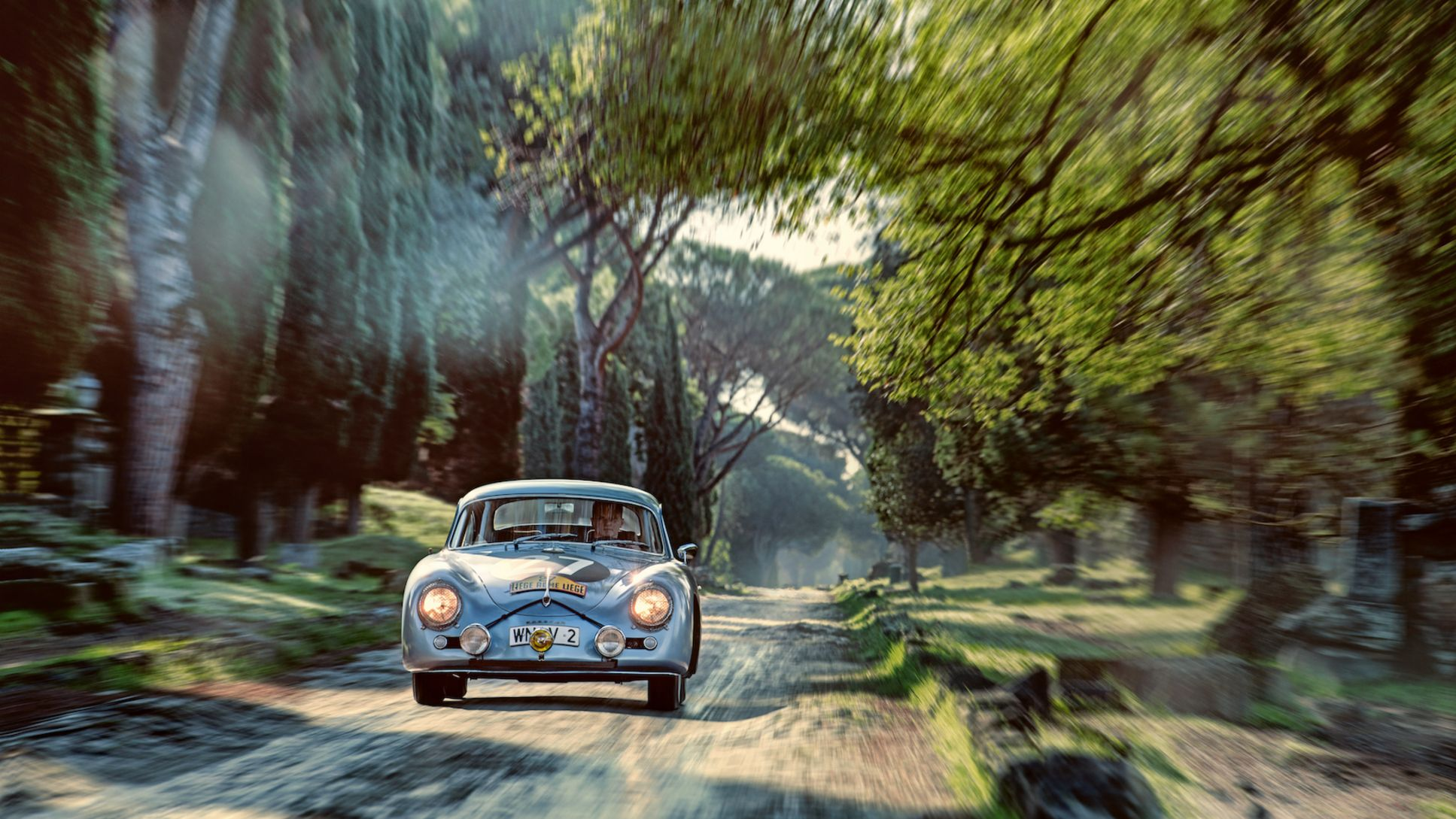 The Porsche 356 on the road to Rome - Image 8