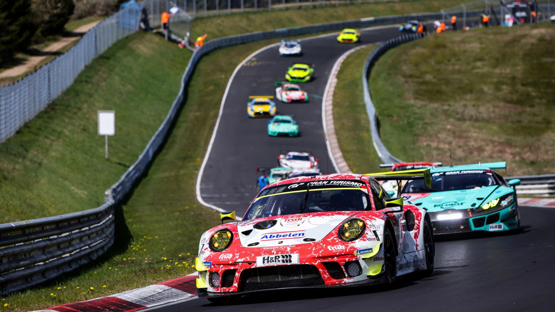 Porsche customer teams fight for 13th outright victory in the Eifel - Image 3