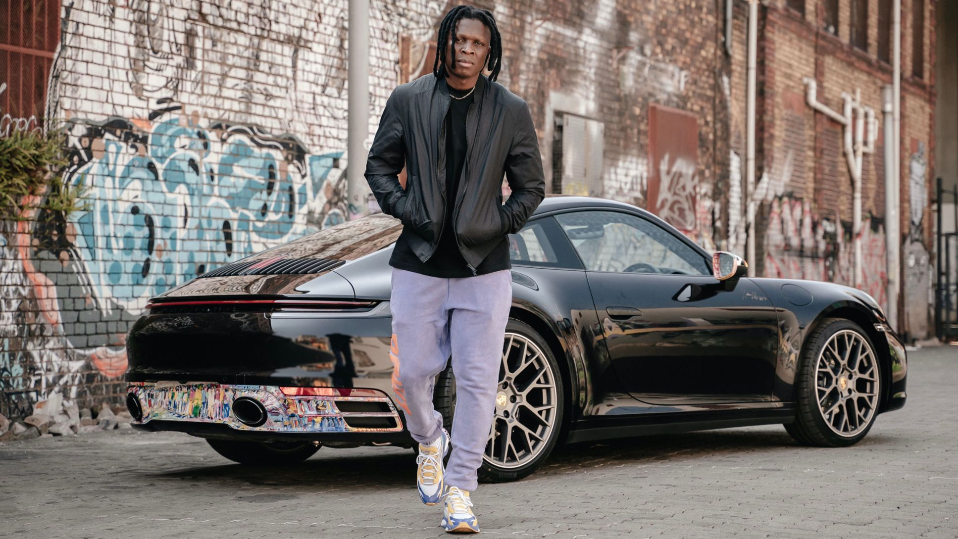 A moving masterpiece: artist Nelson Makamo and his one-off Porsche 911 Carrera - Image 8