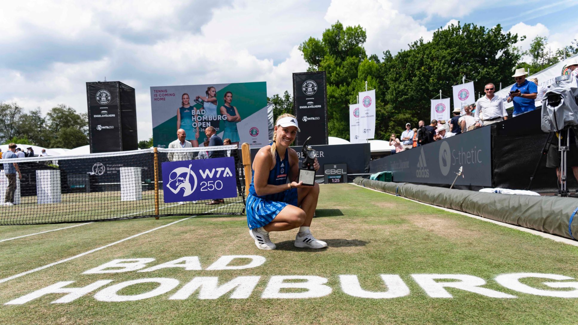 Angelique Kerber wins her 13th WTA title at the Bad Homburg Open - Image 3