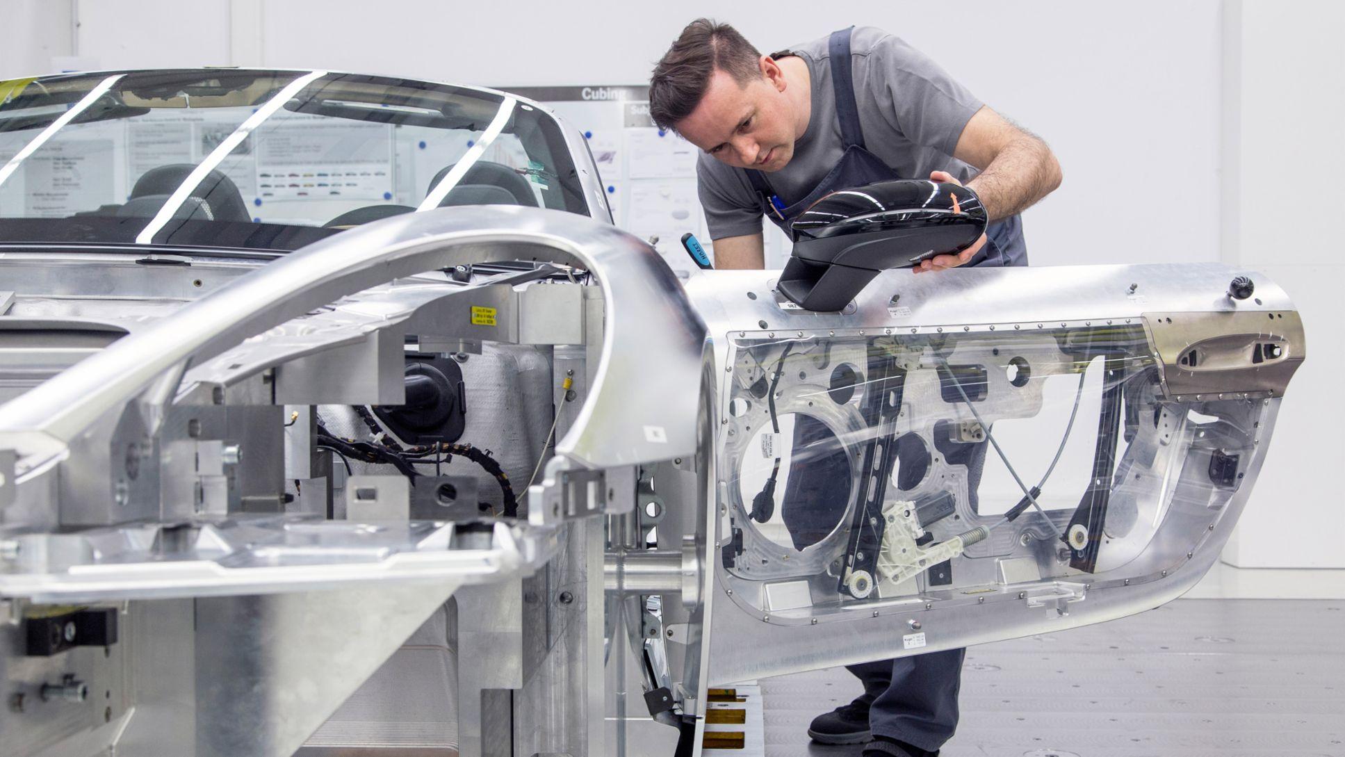 Cubing 911, 2016, Porsche AG