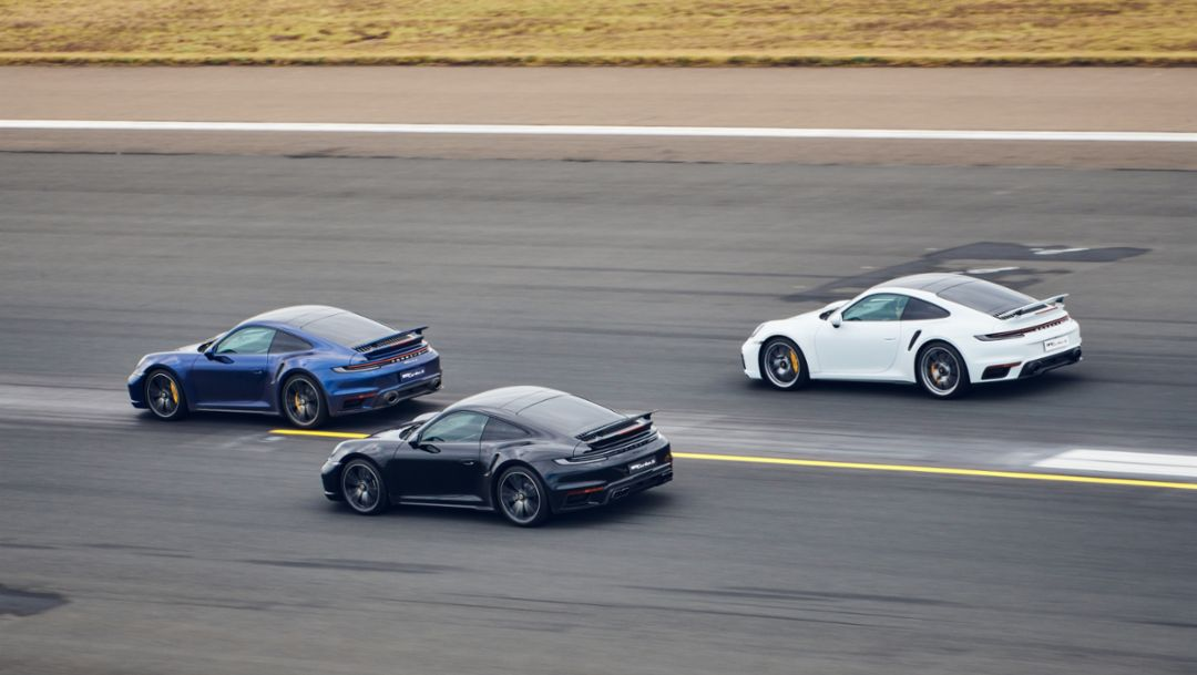 Launch of the 911 Turbo S in Sydney