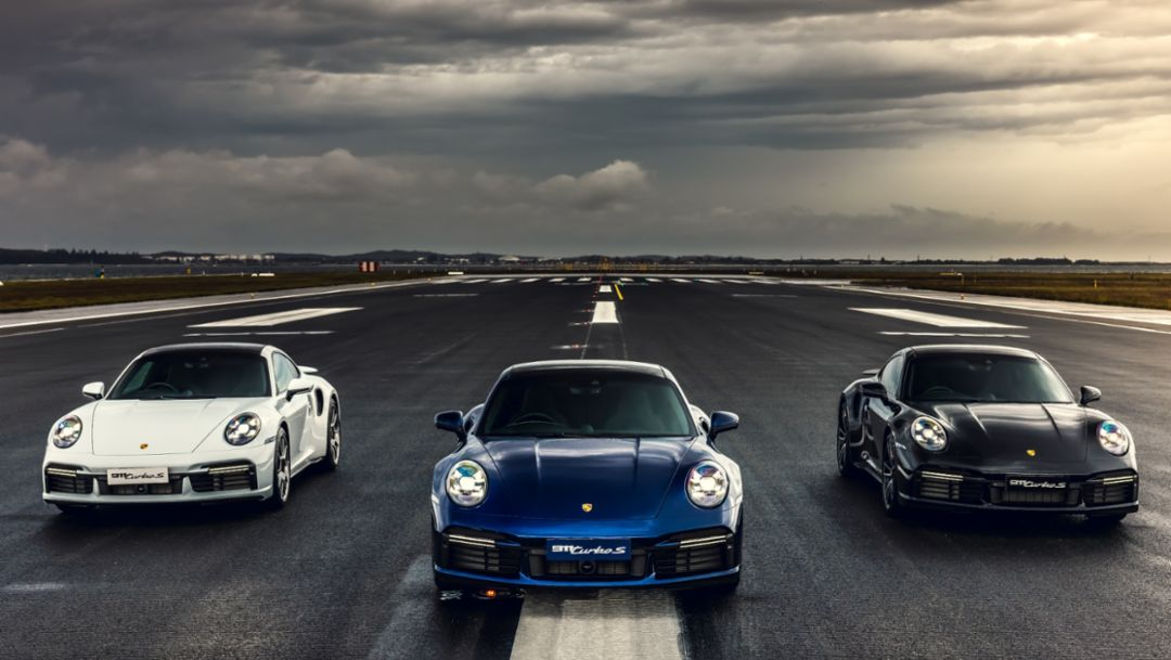 The Porsche 911 Turbo S Takes Over Sydney Airport