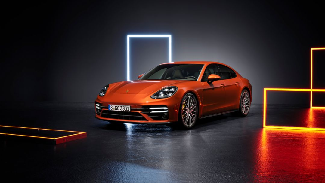 The digital world premiere of the new Panamera