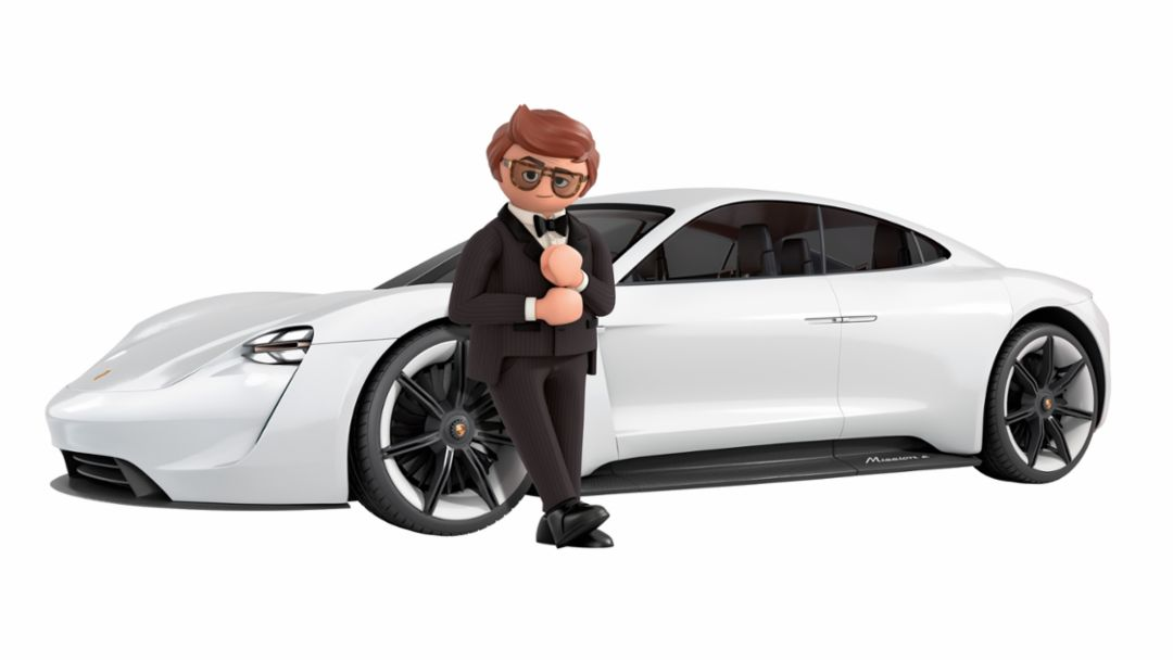 PLAYMOBIL: THE MOVIE – Rex Dasher's Porsche Mission E
