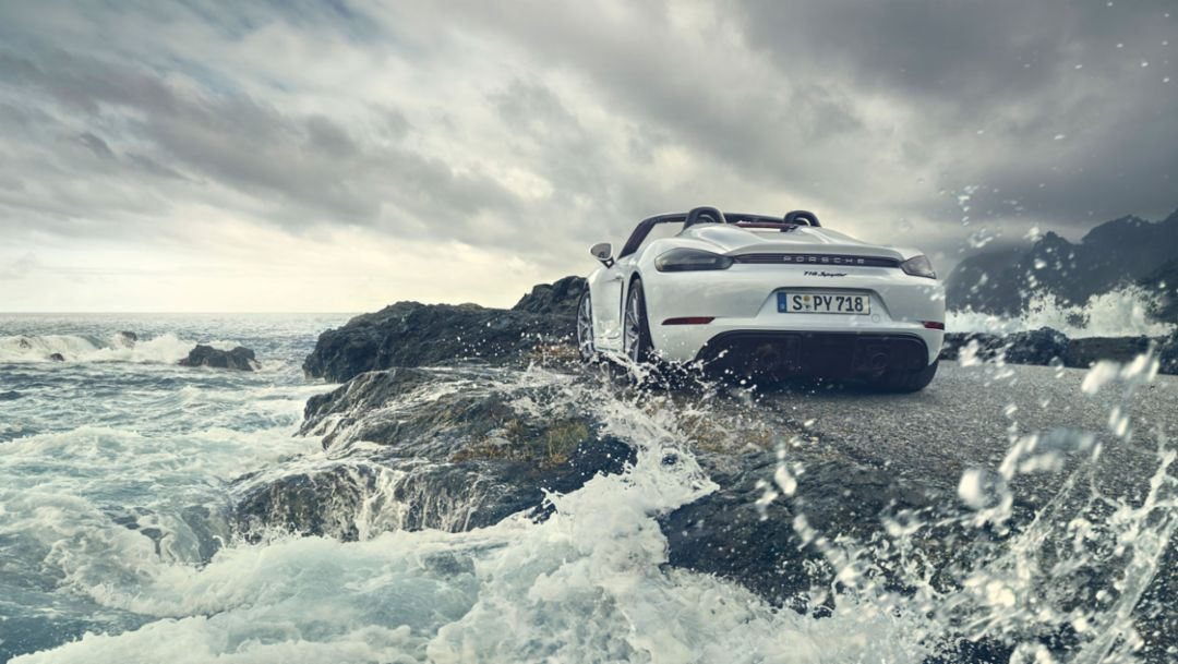 Impressions of the new Porsche 718 Spyder