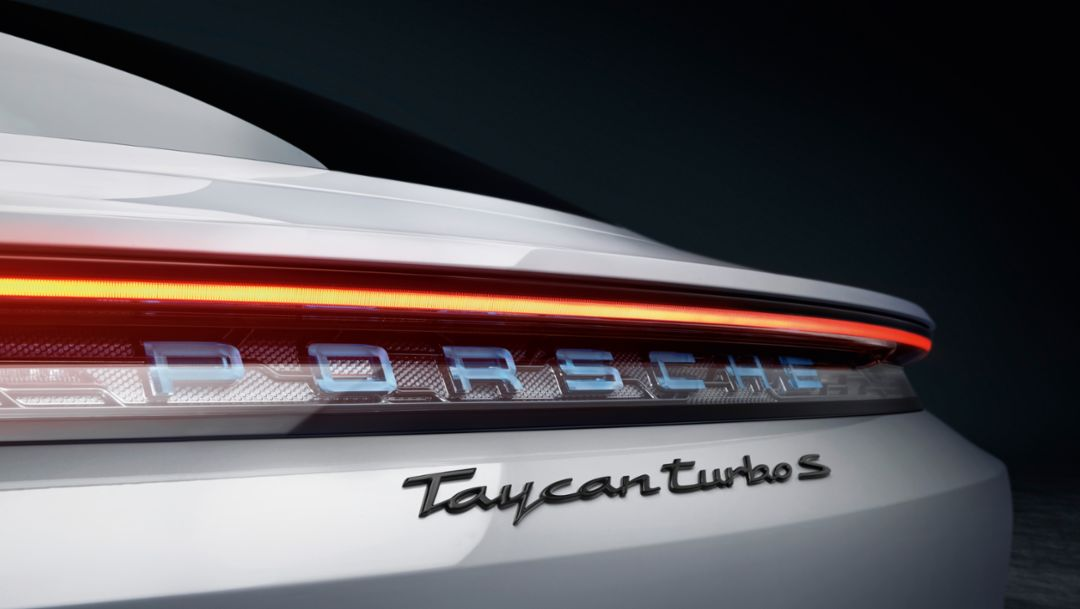 Die Design-Highlights des brandneuen Porsche Taycan