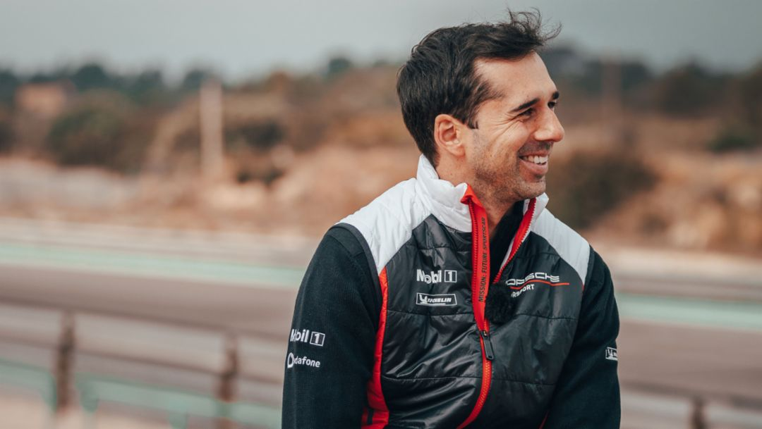 "Neel Jani: ""Porsche feels like home"""