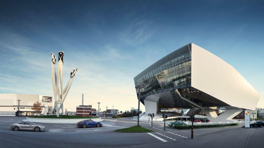 The Porsche Museum opens again